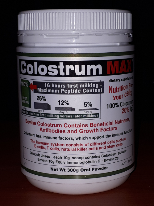 Just Pure Colostrum Peptide Moor Skin Treatments 300g Colostrum Powder